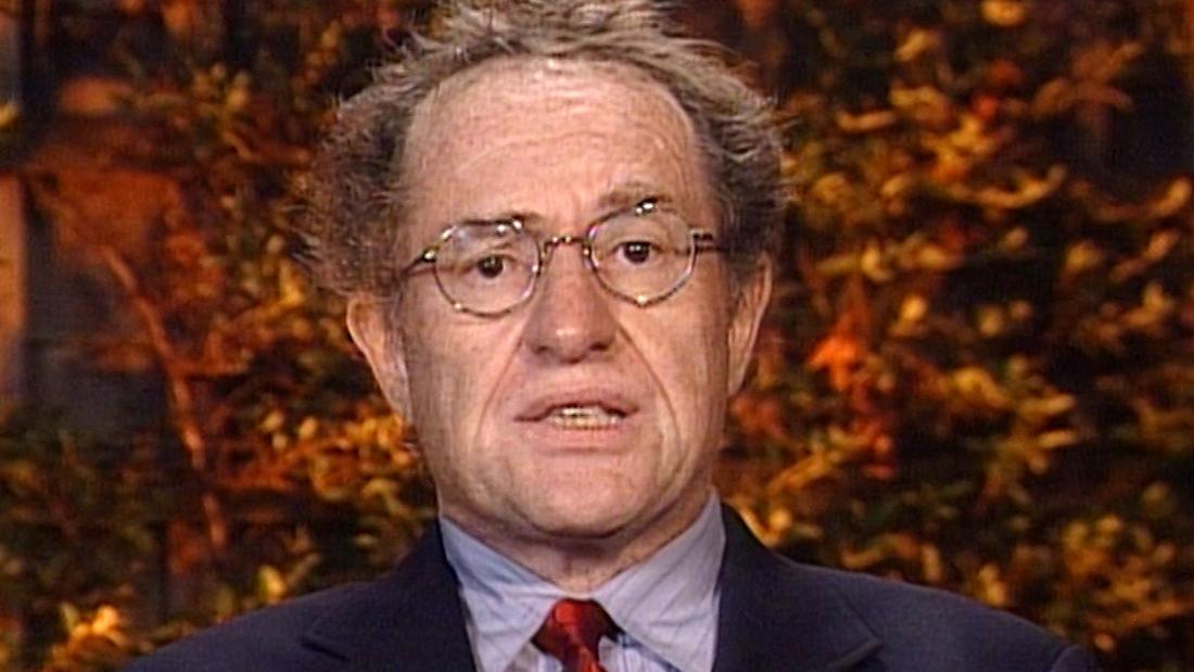 First Alan Dershowitz said you can be impeached without committing a crime. Now he says you can't be.