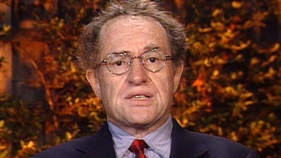 Dershowitz1998年:なにも犯罪をimpeach