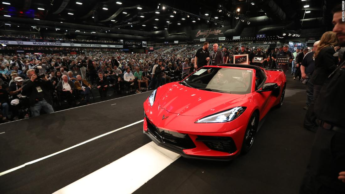 First new 2020 Corvette auctioned for $3 million - CNN