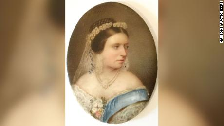 Queen Victoria's clothes will be sold at auction on Tuesday.
