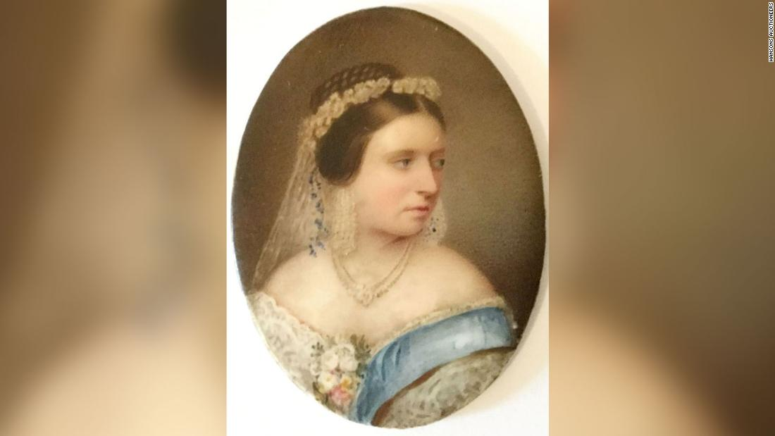 Queen Victoria's outfit was found in an old cabinet