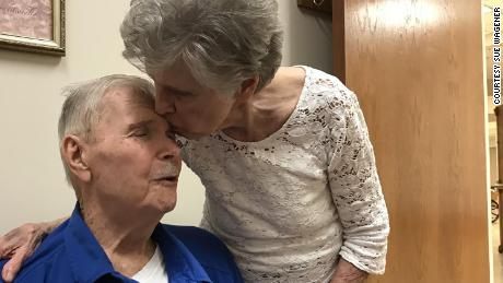 Jack and Harriet Morrison have been together since 1955.  The passed away on the same day hours apart.