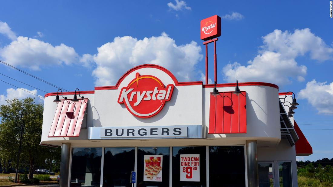 Fast food chain Krystal files for bankruptcy