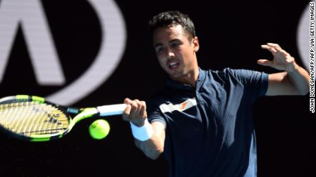 Hugo Dellien a fost primul bolivian care a jucat la Australian Open