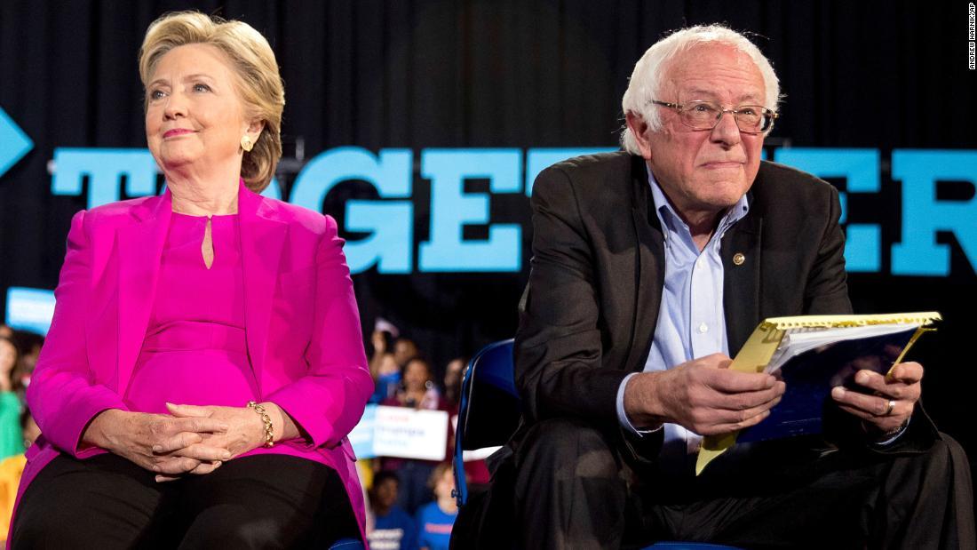 Η χίλαρι Κλίντον είπε ότι θα στηρίξει τον υποψήφιο του Δημοκρατικού κόμματος-ακόμη και αν είναι Σάντερς