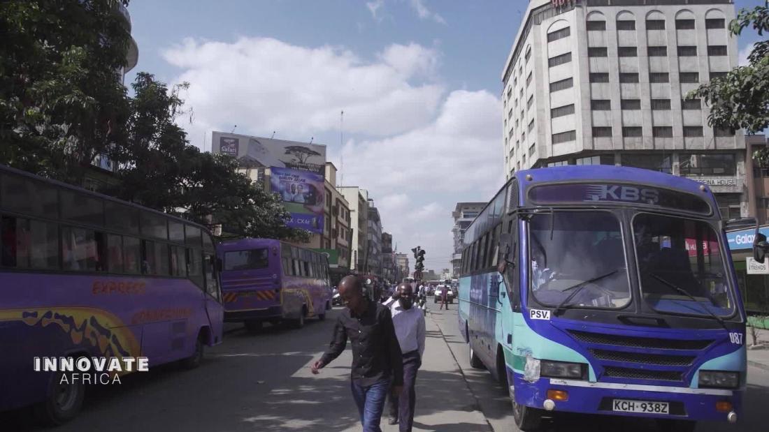 Nairobi's matatu minibuses are getting a high-tech makeover