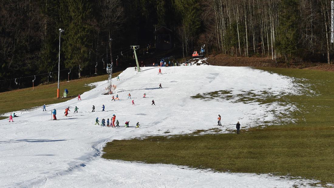 Lieben Sie Skifahren? Genießen Sie es, solange es dauert