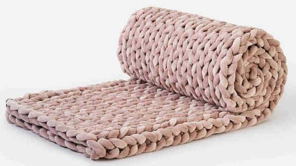 Bearaby Velvet Napper Weighted Blanket