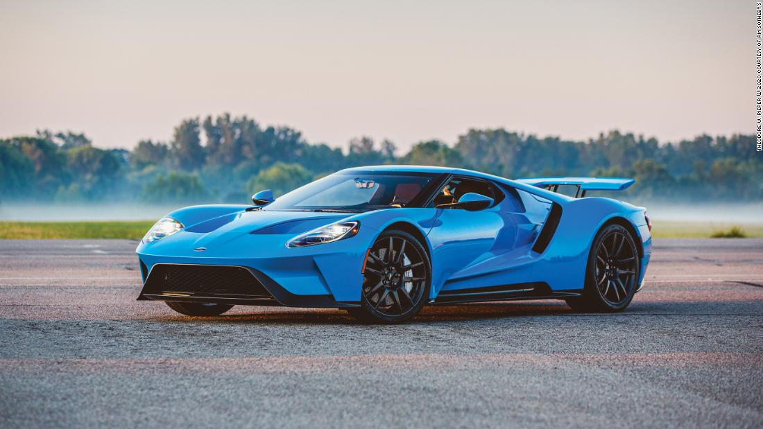Ford GTs sold for $450,000 three years ago. Now, they're worth more than $1 million - CNN
