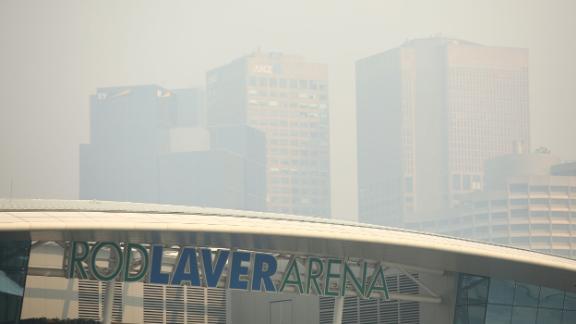Smoke from Australia