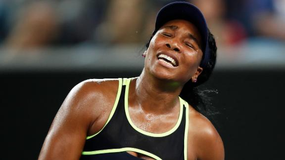 It was a case of new year, same result for Venus Williams, who fell to 15-year-old compatriot Coco Gauff in the first round, just as she did at Wimbledon last year.
