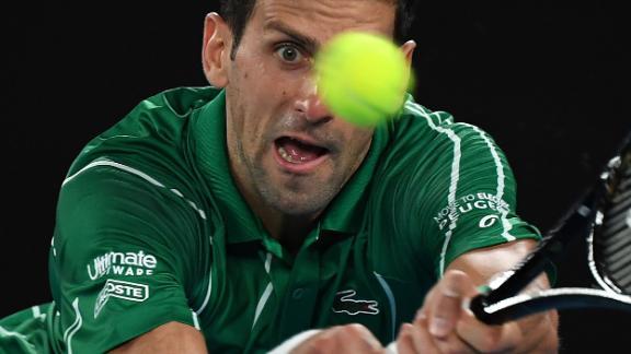 Defending champion Novak Djokovic holds the best record at the Australian Open in the men