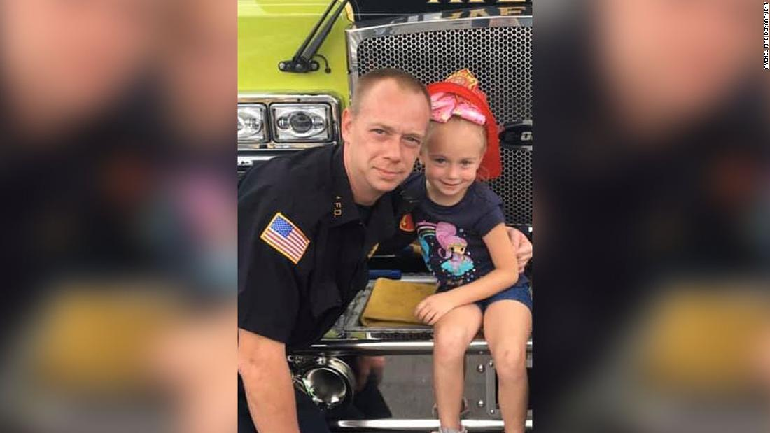 A 6-year-old heard a smoke alarm in the middle of the night and woke her firefighter father, saving the family