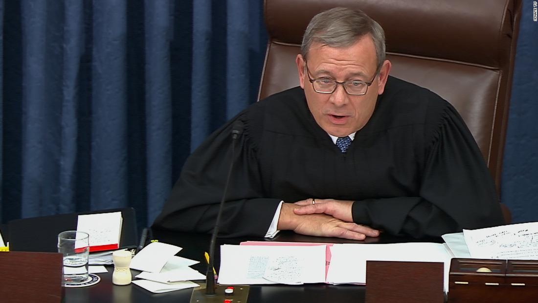 Analyse: Warum John Roberts, verwarnte die Amtsenthebungsverfahren legal teams um 1 Uhr