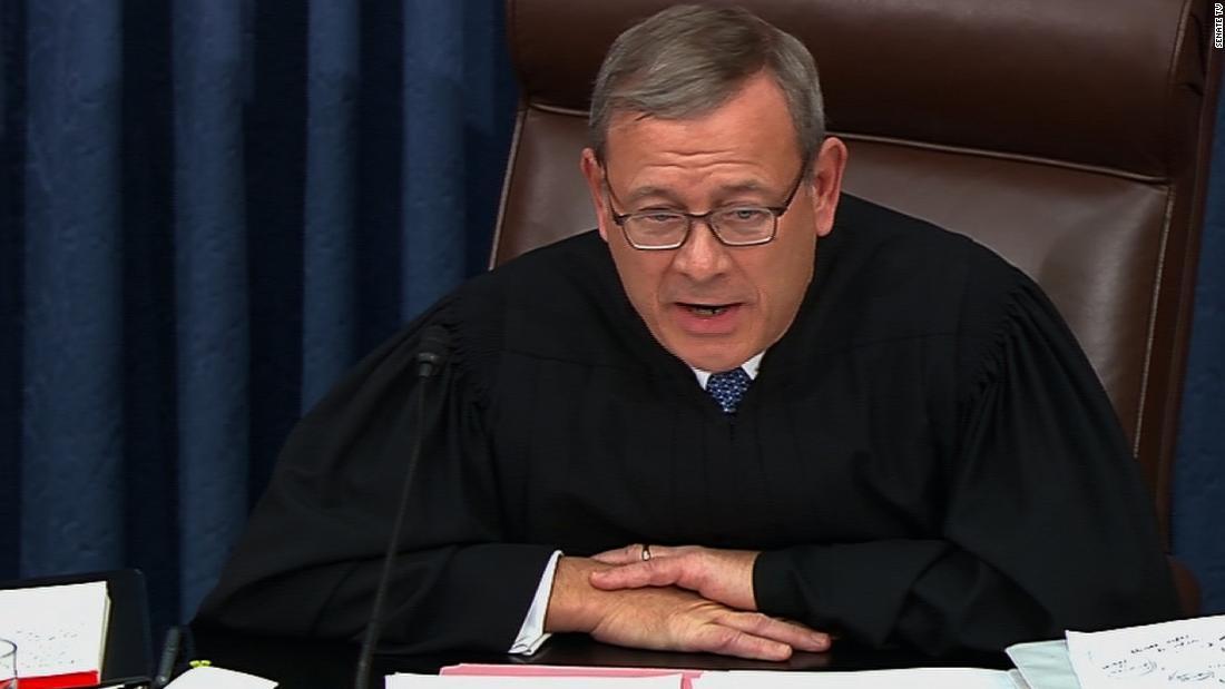 John Roberts' UNERSCHÜTTERLICHEN Ansicht der Stimm-Zugang gesehen, die im Gericht am Wisconsin-Urteil