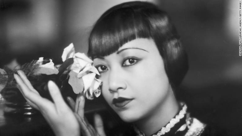 American film star, Anna May Wong (1905 - 1961).