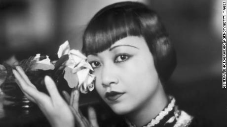 American film star, Anna May Wong (1905 - 1961).