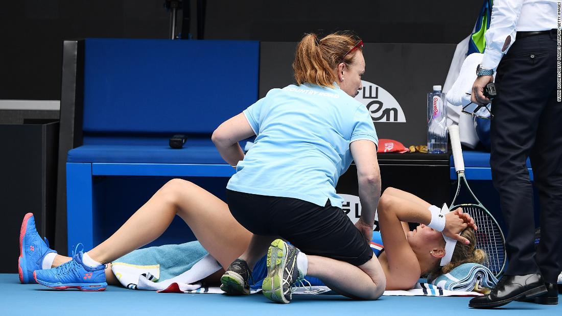 Caroline Wozniacki accuses opponent of gamesmanship during Australian Open win