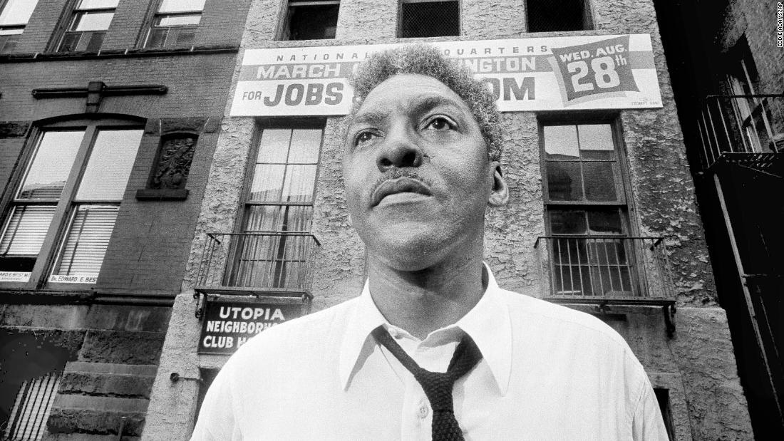 Bayard Rustinが赦さ67年後に逮捕された性と男性
