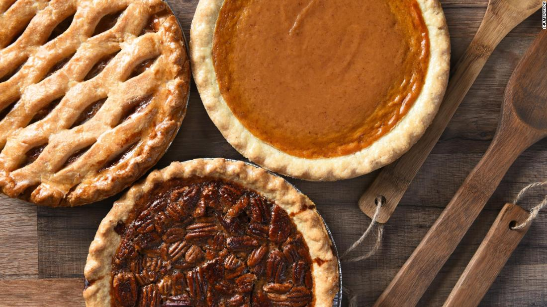 Grab a slice! It's National Pie Day