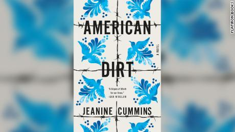 "The cover of ""American Dirt"" features criss-crossed barbed wire."