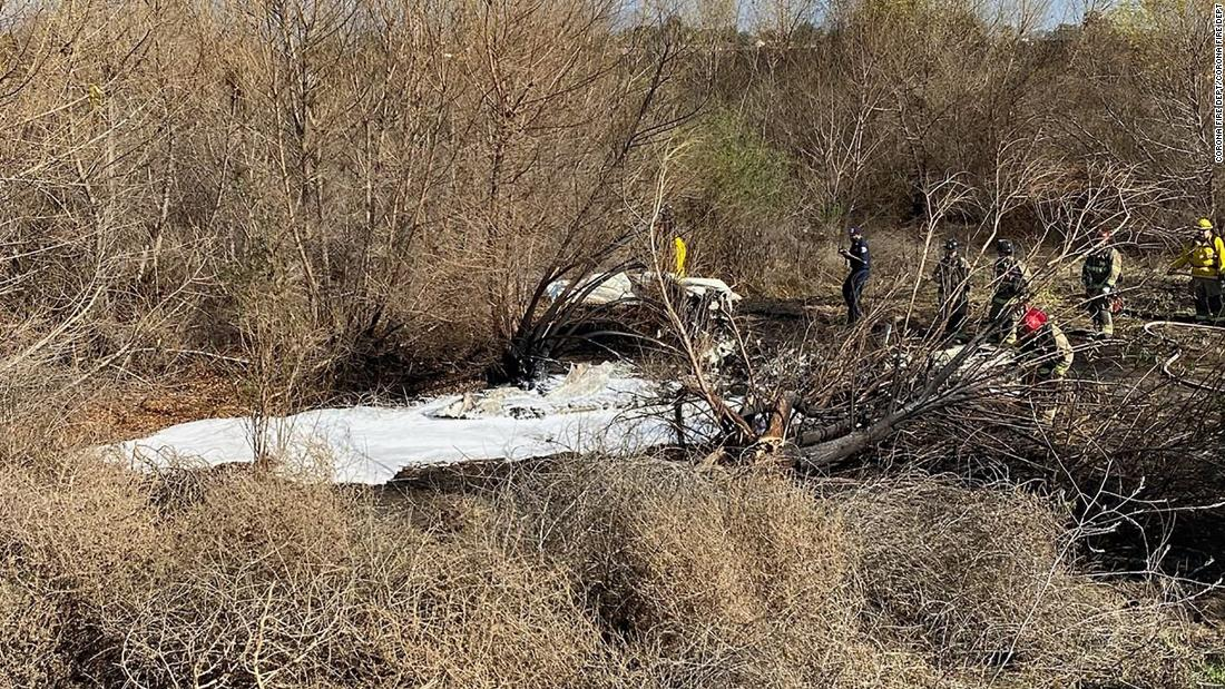 Four people killed in California plane crash