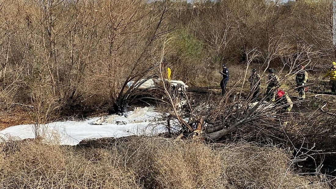 Four people killed in California plane crash