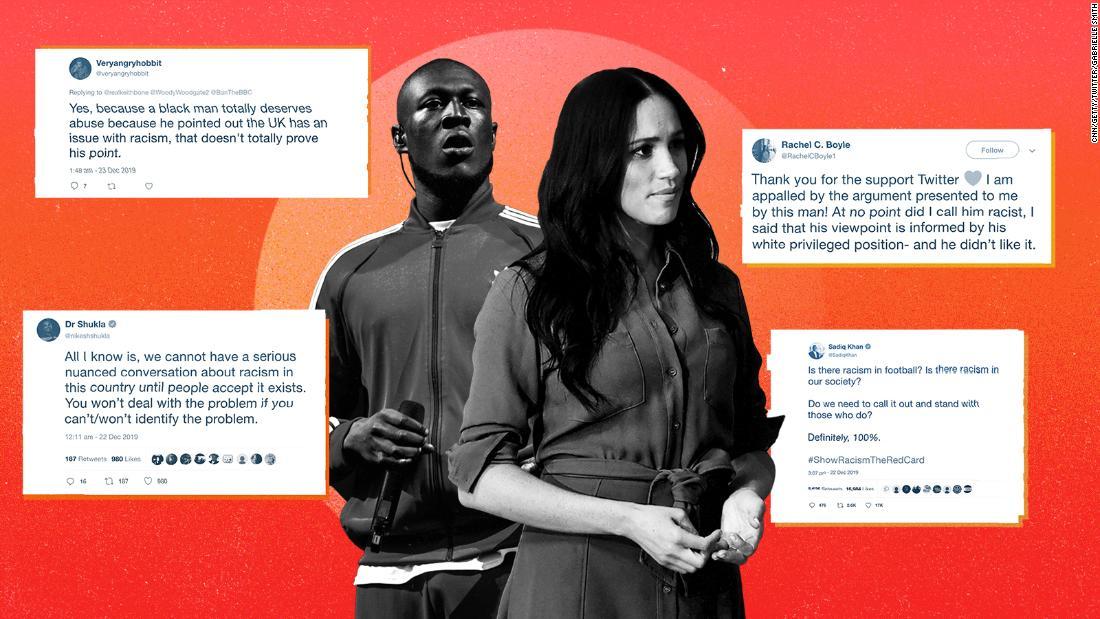 Analyse: Das Spiel gegen Meghan und Stormzy zeigt, dass Großbritannien in der Ablehnung über Rassismus