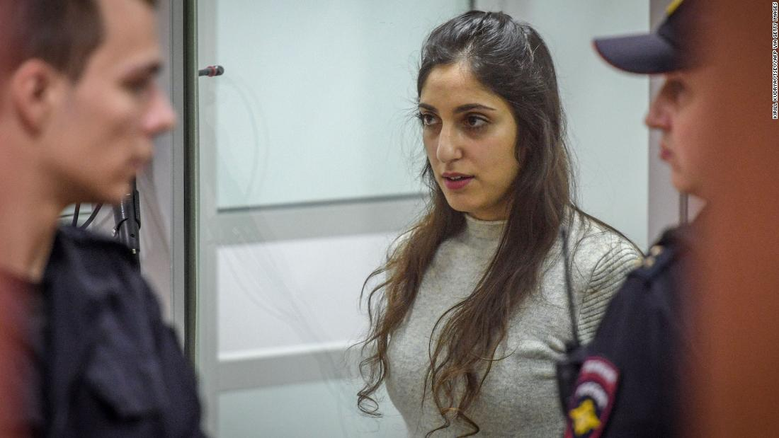 Putin pardons Israeli-American woman jailed in Russia for drug smuggling