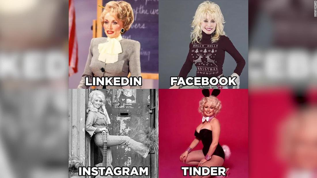 Dass 'LinkedIn, Facebook, Instagram, Zunder' meme? Sie begann es