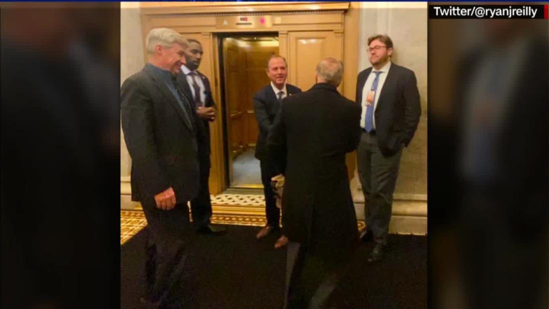 Graham congratulated Schiff on 'good job' in presenting argument in Senate impeachment trial