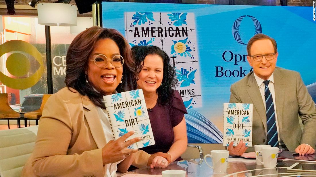 Oprah's new book club pick is fueling a debate. It's not just about the story. It's who's telling it