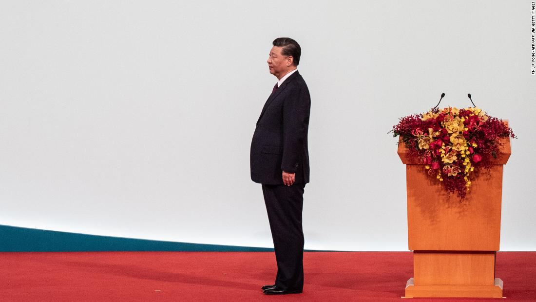 China's President Xi Jinping in Macau on December 20, 2019.