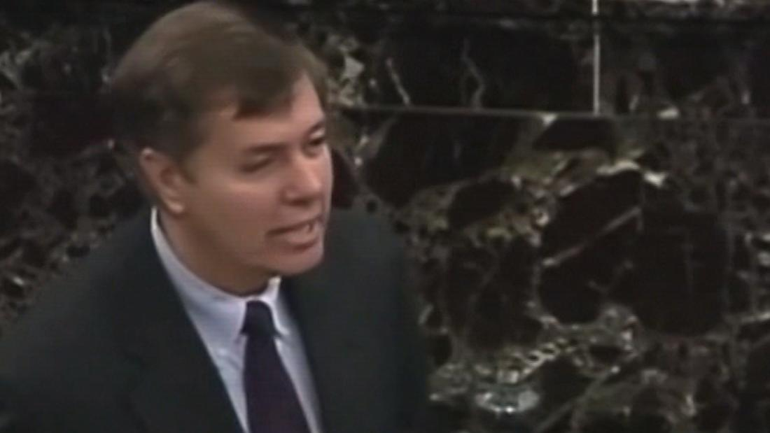 Democrats play 1999 video of Lindsey Graham talking about impeachment to bolster case against Trump