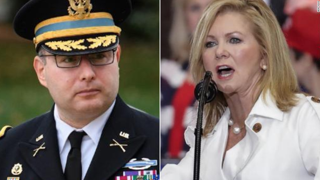 Pentagon's vow to protect Vindman against retaliation tested after Blackburn attacks decorated veteran