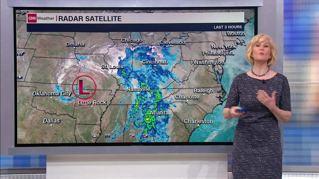 For a third weekend in a row, a winter storm will blast the eastern US