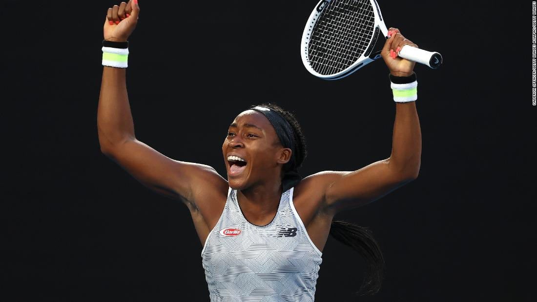 Coco Gauff's fairytale run at the Australian Open comes to end after defeat by fellow American Sofia Kenin