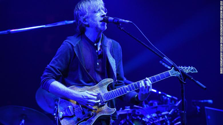 Phish and Dead & Company will require proof of vaccination or negative Covid tests for upcoming shows
