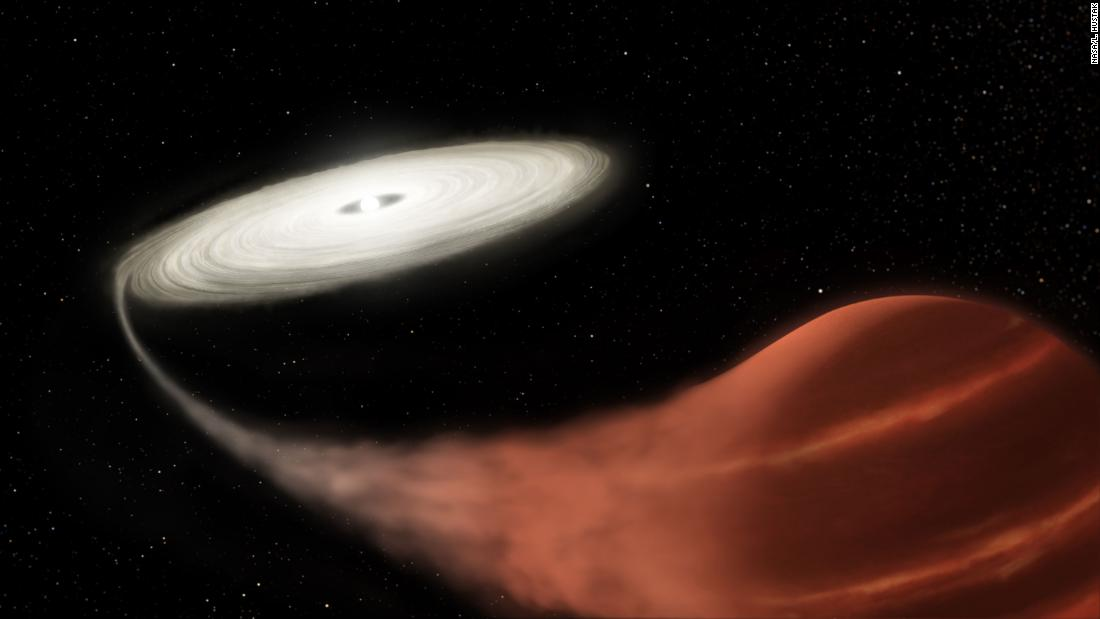 Vampire star system shows one star gorging on another - CNN