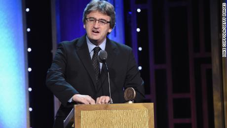 Fergal Keane speaks onstage at the 75th Annual Peabody Awards ceremony in New York on May 21, 2016.