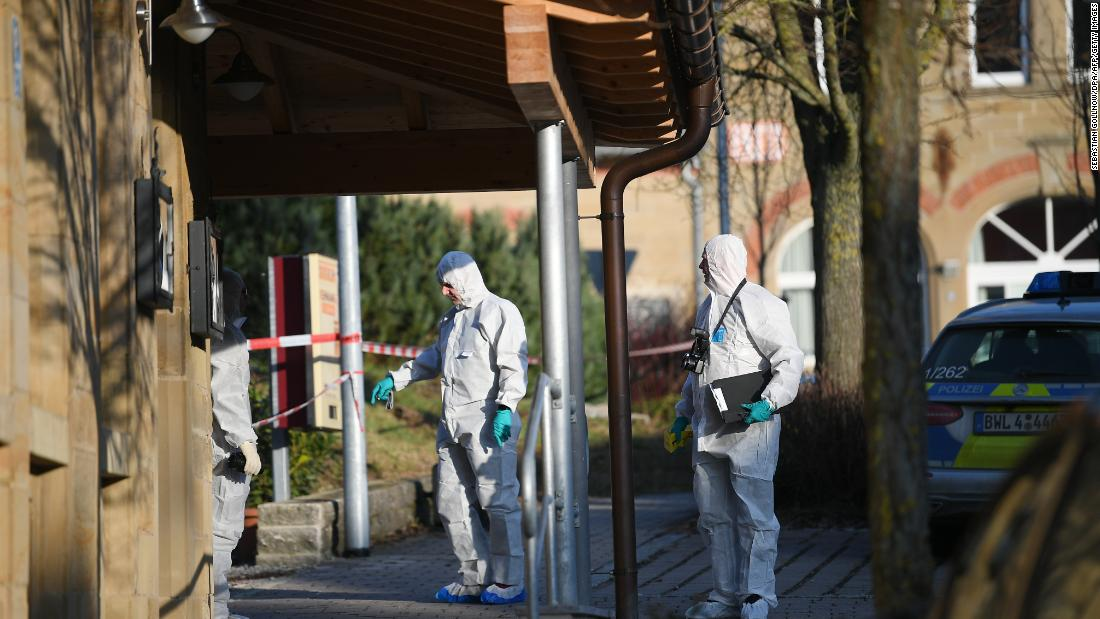 Six people killed in shooting in southwestern Germany