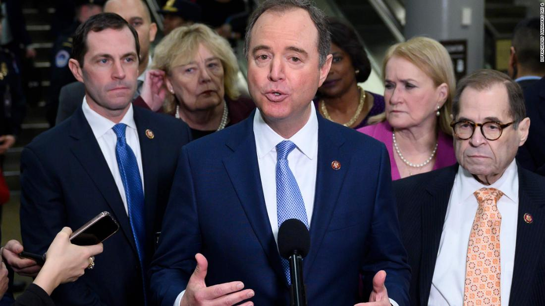 Schiff: Trump's team is trying to 'deflect' and 'distort' truth in opening arguments thumbnail