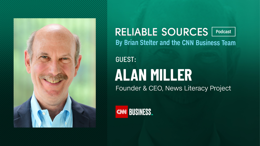Alan Miller says National News Literacy Week is about solving the misinformation 'pandemic'
