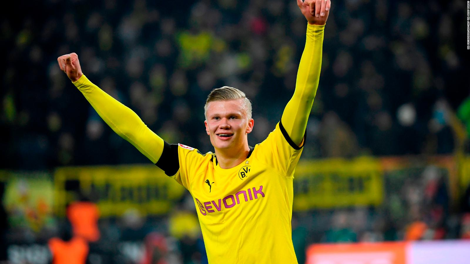 Erling Braut Haaland Teen Sensation Stuns Psg On Champions League Debut For Borussia Dortmund Cnn
