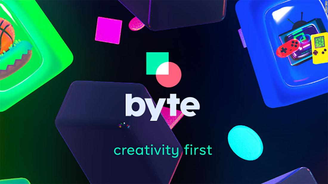 Byte, the sequel to Vine and potential competitor to TikTok, launches on mobile - CNN