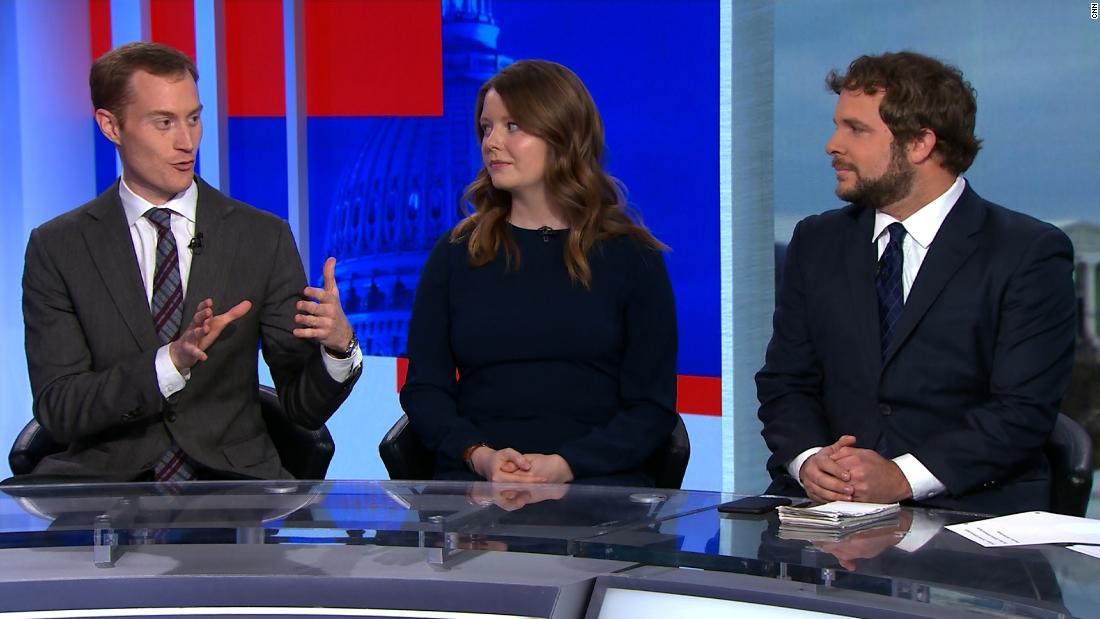 Reporter: GOP senators' behavior changed today