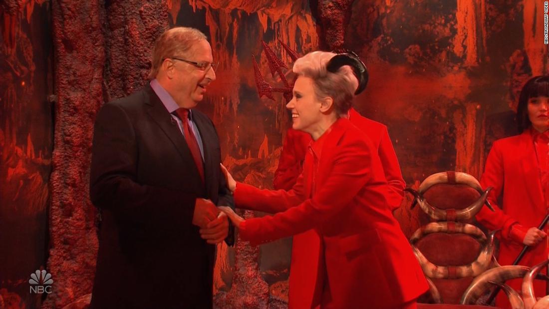 Trump Anwalt geht in die Hölle in der 'Saturday Night Live' cold open