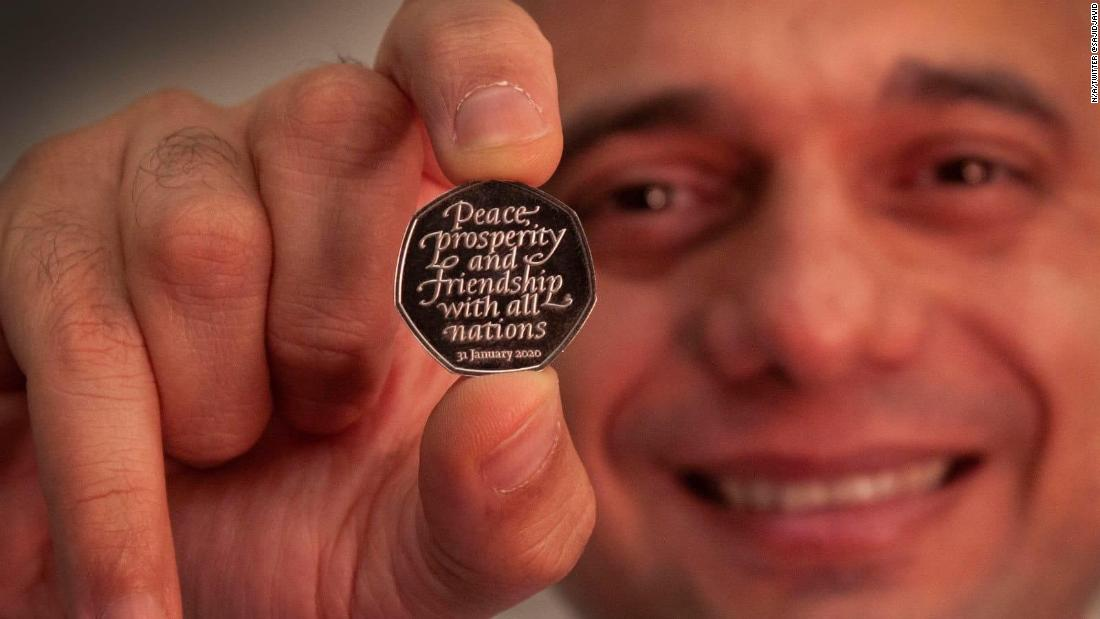 UK launches coin to mark Brexit... again