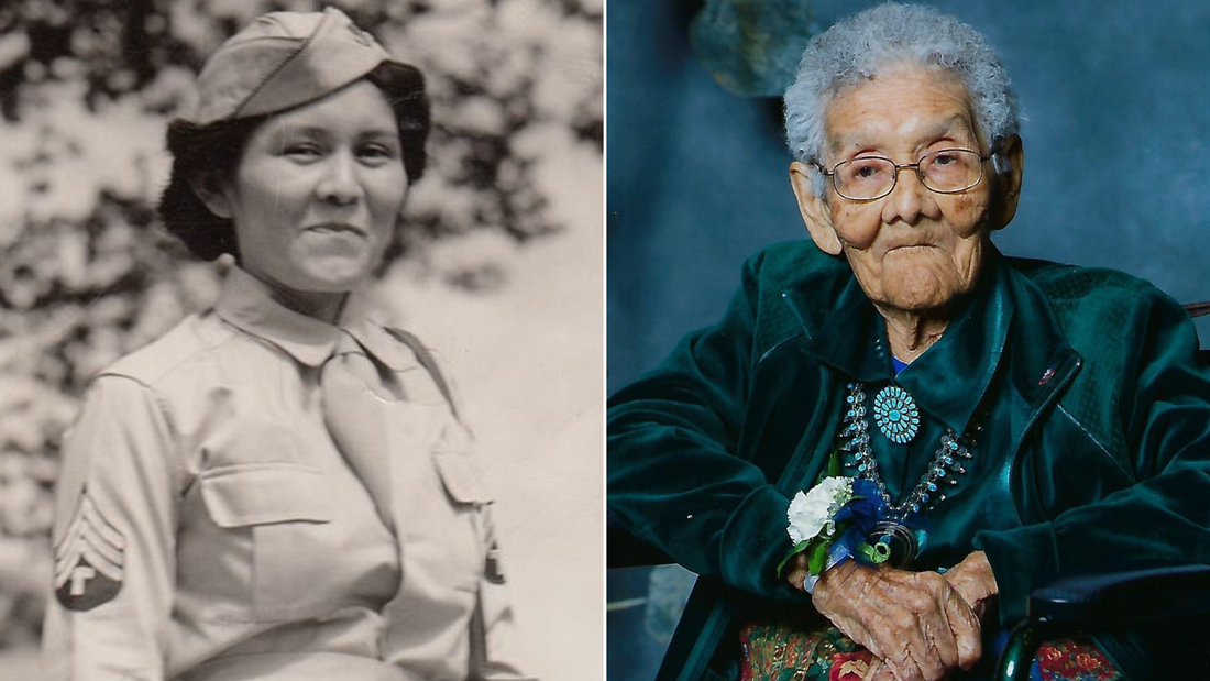 Sophie Yazzie, a WWII veteran and member of the Navajo Nation, dies at 105