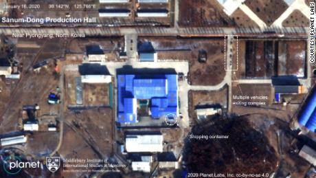 Satellite Imagery Shows Vehicle Activity By Critical North Korean